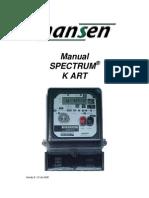 Manual Spectrum Kart