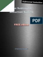 Subliminal Seduction FREE eBook
