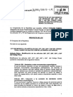 proyecto de ley 2582/2013-cr