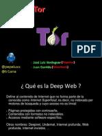 El lado oscuro de tor la deep web