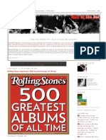 Rolling Stone Magazine's 500 Greatest Songs 25 (Final)