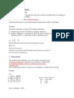 Primary School Poblem Sums Methods