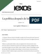 La política después de las ilusiones | Nexos