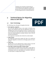 Technical Basics for Migrating Data to SAP ERP