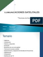 3.2 Comunicaciones Satelitales