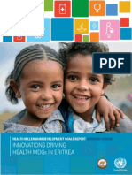 Eritrea Abridged MDG Report