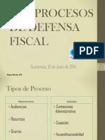 Los Procesos de Defensa Fiscal CCPA 6J14 Guatemala
