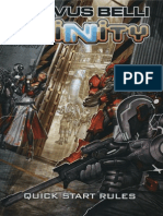 Corvus Belli, Infinity, Third Edition, Quick Start Rules
