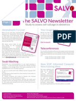 SALVO Newsletter Nov 14