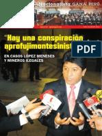 Boletín Nº 21 del Grupo Parlamentario Nacionalista Gana Perú
