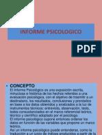 Informe Psicológico forence
