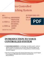 Final- Voice Controlled Switching System