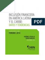 Reporte Inclusion Financiera América Latina y el Caribe