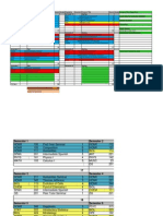 four year plan template