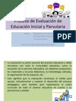 Proceso de Evaluacion de Educacion Inicial y Parvularia Corregida