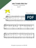 Mozart Twinkle Twinkle Little Star Level3