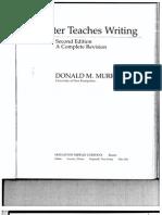 Writer Teaches Writing - Murray
