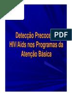 Detecção Precoce Do HIV_AIDS Nos Programas Da Atenção Básica - APOSTILA MUITO BOA