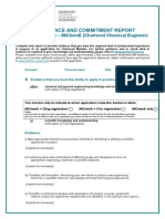 Competencdgde and Commitment Report