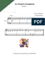 Haydn the Surprise Symphony Level1