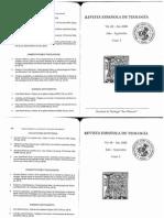 GERARDO Tomás y Filósofos RevistaTeología