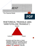 classical model of argumentation
