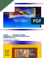 Inicio Sesión I y Tema 1 Problemas Centrales de La Planificaciaon y Gerencia de La C&T