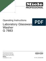 Miele Glassware Washer G7883