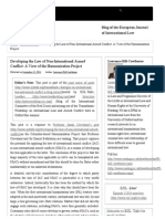 EJIL_ Talk! – Developing the Law of Non-International Armed Conflict_ a View of the Harmonization Project