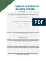 CÓMO TRABAJAR LA POESÍA EN EDUCACIÓN INFANTIL.doc