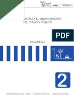 CRITERIOS PARA EL ORDENAMIENTO DEL ESPACIO PÚBLICO (Banquetas)