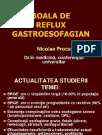 boala de reflux gastro-esofagian 2013