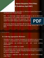 Basel - II - Market Discipline (Third Pillar)