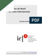 os desafios do brasil no plano internacional