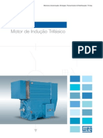 WEG Motor de Inducao Trifasico Linha w60 50038673 Catalogo Portugues Br