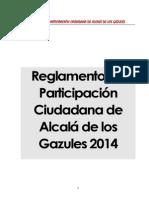 6.REGLAMENTO FINAL 2014 DE PARTICIPACIÓN CIUDADANA DE ALCALÁ DE LOS GAZULES..pdf