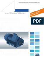 WEG w50 Motor Eletrico Trifasico Catalogo Tecnico 50043899 Catalogo Portugues Br