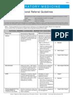 Criterii de Trimitere Specialist Pneumolog