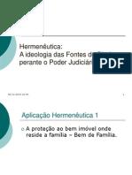 AP 2 Hermenêutica e Judiciário - Ideologia BemFamilia