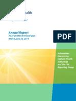 CHI Annual Report FYE June 2014