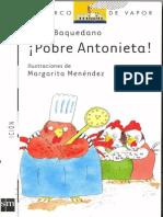 Pobre Antonieta-Lucia Baquedano