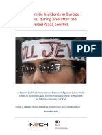 Antisemitic Incidents in Europe