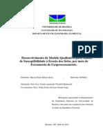 Desenvolvimento de Modelo Qualitativo para Análise de Susceptibilidade à Erosão dos Solos, por meio de Ferramenta de Geoprocessamento