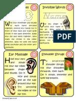 Brain Gym Cards