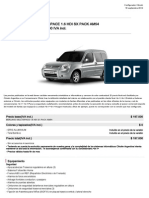 2 Berlingo Multispace 1.6 Hdi Sx Pack Am54