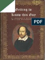 Shakespeare Biography Pdf