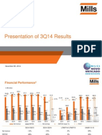 3Q14 Presentation of Results