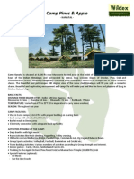 Camp Pines Kanatal Brochure