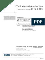 Avis Technique Certificate 2012