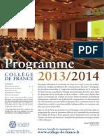 2013 2014 Cdf Programmecours